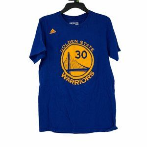 Adidas Womens Blue Stephen Curry T Shirt Small